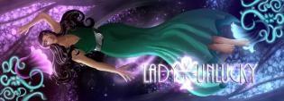 Lady Unlucky Comic Header
